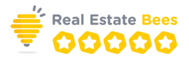 real-estate-bees-logo-with-stars 270px